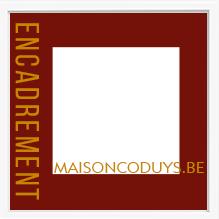 Maison Coduys - Cadres, cadres sur mesure et encadrements